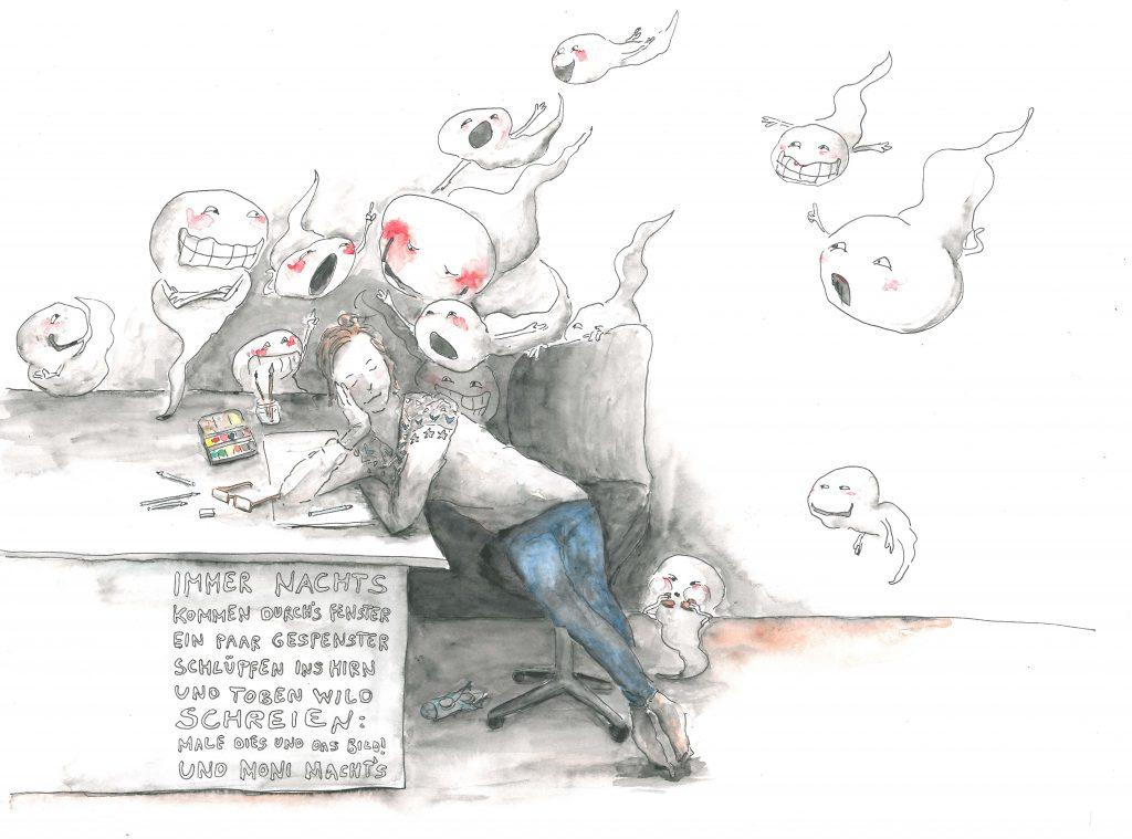 Der Schlaf der Vernunft gebiert Hirngespenster (MUDH)